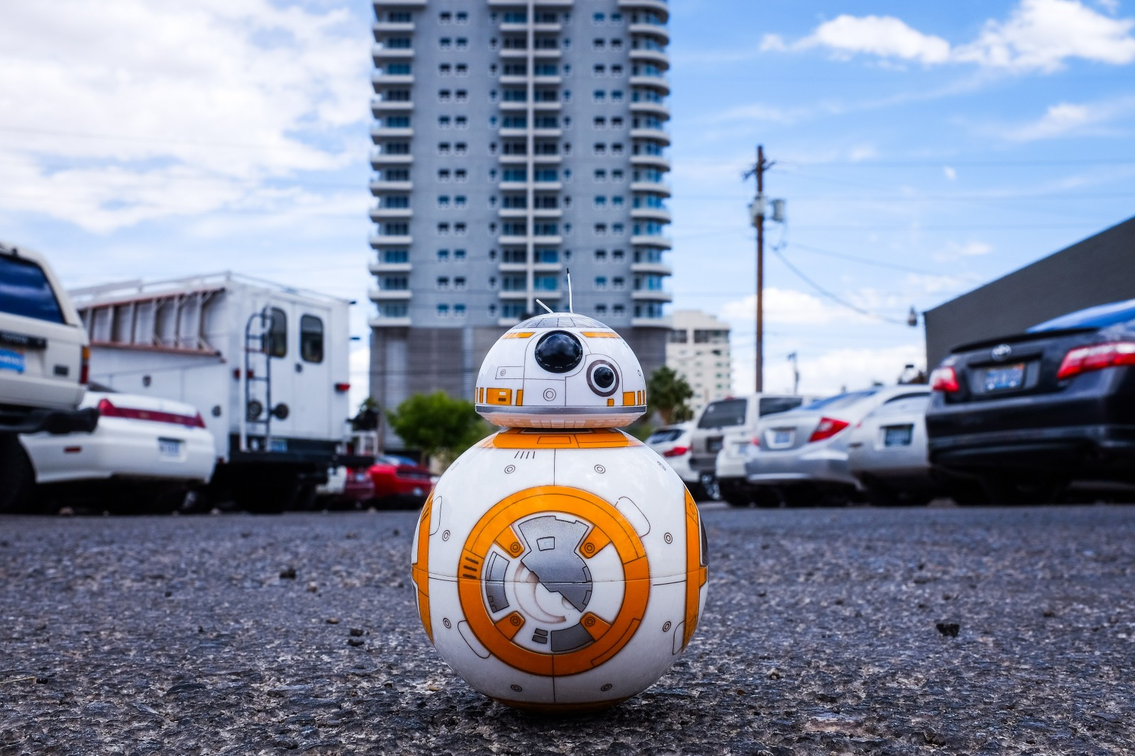 BB8 from Star Wars, example of artificial intelligence